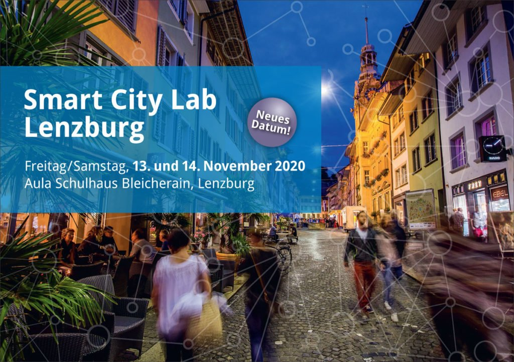 Smart City Lab Lenzburg am 13. und 14. November 2020.